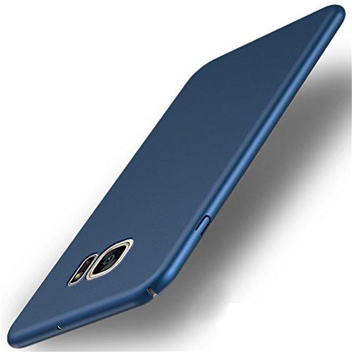 Adamark Coque Samsung Galaxy S7 Ultra Slim Légère Case Anti-Scratch Thin Protection Housse Bumper Récurer PC Rigide Étui Back Shell pour Samsung Galaxy S7 (Blue)