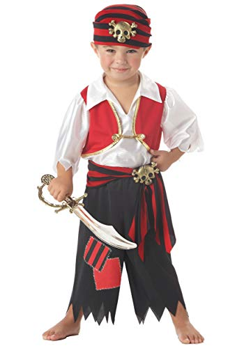 Ahoy Matey Pirate Costume Toddler (Large)