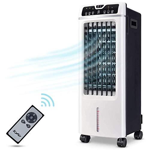 WQSFD 4 In 1 Mobile Klimageräte Klimagerät Persönliche Luftkühler,USB Klimaanlage, 3 Kühlstufen tragbarer Luftkühler für Zuhause, Büro und Zimmer Verdunstungskühler