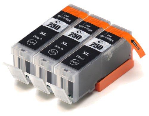 Blake Printing Supply 3 Big Black Compatible Ink Cartridges for PIXMA MG6620