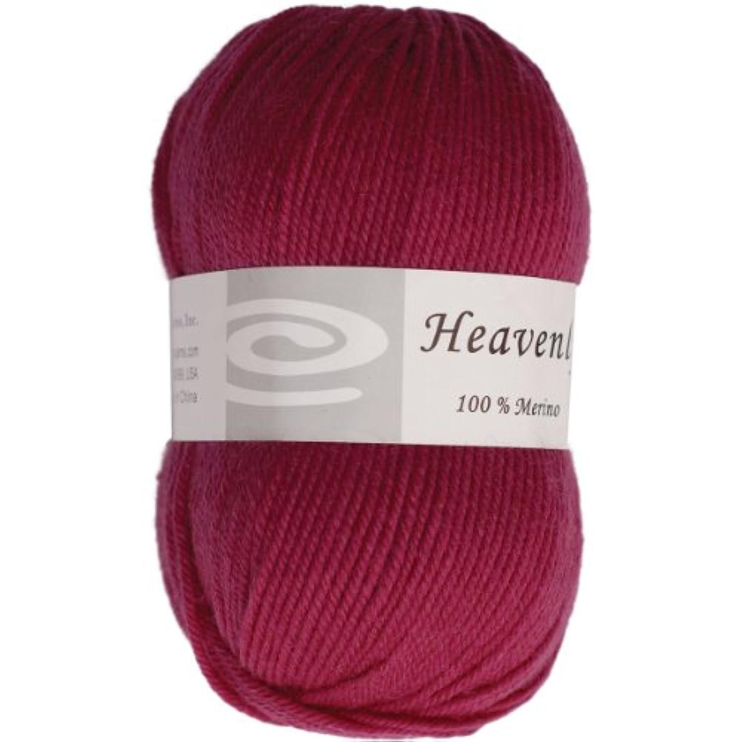 Elegant Yarns Heavenly Yarn, Eggplant Purple