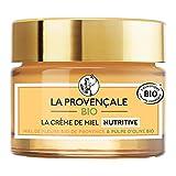 La Provençale Bio – Crème de Miel Nutritive – Miel de Fleurs Bio IGP Provence et Pulpe d'Olive Bio – Pour Tous Types de Peau Même les Plus Sensibles - 50 ml