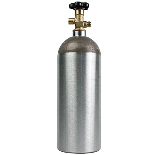 Luxfer Aluminum CO2 Air Tank Cylinder Container 5 lb with valve
