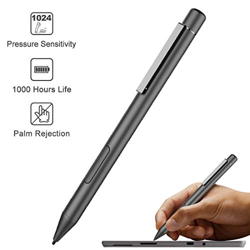 2020 Surface Pen for Microsoft Surface Stylus Pen with 1024 Levels of Pressure Sensitivity for Microsoft Surface Pro, Surface Go, Surface Book, Surface Laptop, 1000hrs & Palm Rejection