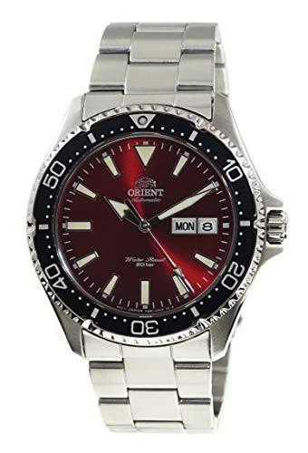 ORIENT RA-AA0003R - Reloj automático de buceo para hombre, 200 m, esfera roja