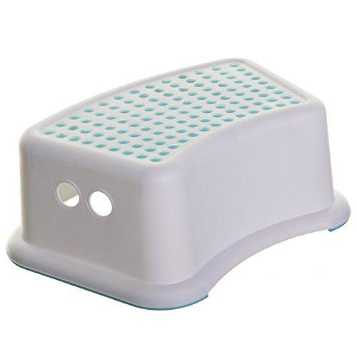 Dreambaby Step Stool Aqua Dots, Toddler Potty Training Aid with Non Slip Base - Model L672
