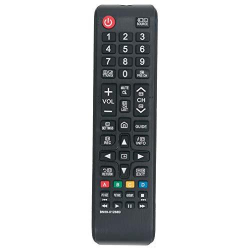 VINABTY BN59-01268D Reemplazo de Control Remoto para Samsung 3D LCD LED Smart TV UE32M5525 UE40MU6199 UE43MU6122 UE49NU7172 UE49NU7372 UE65MU6670 UE65MU7000