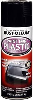 Rust-Oleum Automotive 248649 12-Ounce Paint for Plastic Spray, Gloss Black