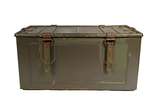 Unbekannt Munitionskiste Indochina Oliv Heavy Used 48 x 25 x 24,5 Werkzeugkiste Metallkiste Metallbox