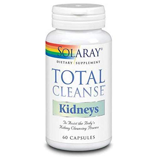 Solaray Total Cleanse Kidneys | Riñones | 60 Cápsulas