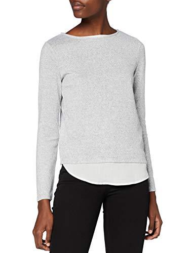 Springfield 6764894T8 T-Shirt, Gris, XL Womens