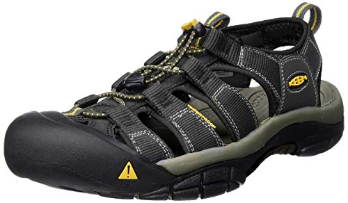 Keen Men's Newport H2 Sandal,Black,10.5 M US