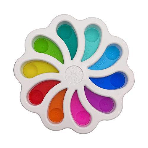 LEFUYAN Push Pop Bubble Sensorial Fidget Alívio de Estresso, Brinquedo Sensorial, Bolha, Brinquedos e Presentes para Crianças, Família e Amigos
