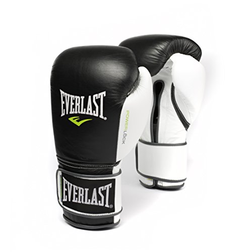Everlast PowerLock Pro Training Gloves 18oz blk/Wht PowerLock Pro Training Gloves