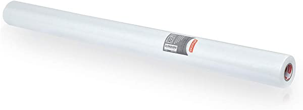 XFasten Fiberglass Waterproofing Membrane Fabric Roll Anti-Fracture, 3 Feet 3 Inches x 33 Feet(107.25 Sqft), Water Barrier Mesh Tape for Shower Walls and Tiles