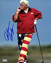 John Daly Autographed Signed Auto Golf Smoking 8x10 Photograph - Certified Authentic