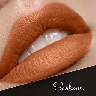 New By The Clique Premium Long Lasting Matte Liquid Lipsticks | Perfect Texture | 17 Cliquestick Colors | Vegan | Cruelty - Free | Gluten Free (Sarbear | Natural Brown)