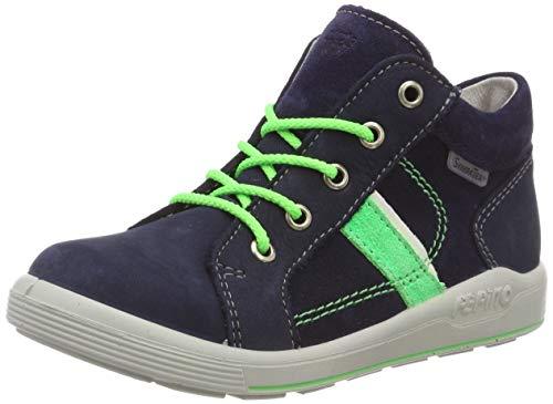 RICOSTA Jungen Kim Hohe Sneaker, Blau (Nautic 172), 25 EU