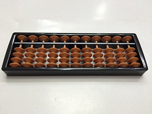 Mini Japanese Soroban Style Abacus Calculator 11 Columns