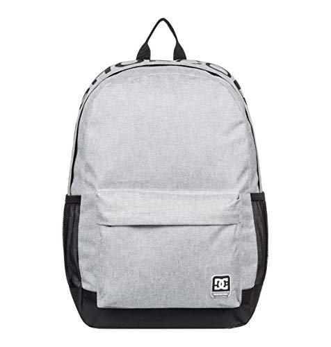 DC Shoes Herren Backpack Backsider - Herren Rucksack, Grey Heather, 1SZ, EDYBP03201