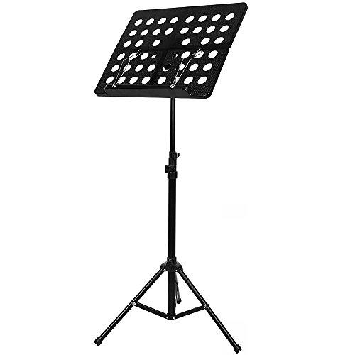 Ajustable Plegable Atril Música con Llevar Bolsa para Violín, Guitarra, Flauta y...
