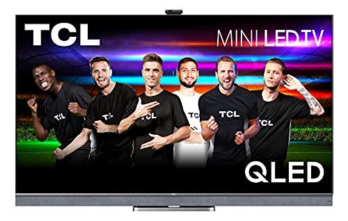TCL 65C825 Mini-LED Fernseher 65 Zoll (164cm) QLED Smart TV (4K UHD, Android 11, Unterstützt 120hz Gaming, Dolby Vision IQ & Atmos, ONKYO Audio System, Google assistant & Alexa)[Modelljahr 2021]