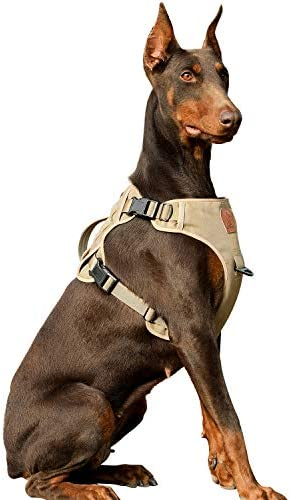 Tactical Dog Vest Harness Reflective Military Service Training Dog Harness No Choke K9 Pet Working product image