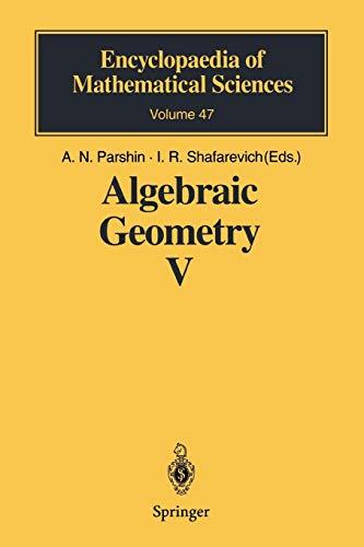 Algebraic Geometry V: Fano Varieties: 47
