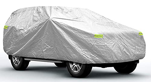 Sojoy Waterproof Car Cover for SUV in All-Weather Small Hail Rain Snow Heat Waterproof Dust Proof...