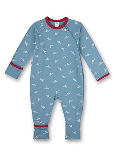 Sanetta Strampler/Overall Blau Mamelucos para bebés y niños pequeños, Bluejay, 86 cm