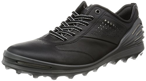 Ecco Herren Men'S Golf Cage Pro Golfschuhe, Schwarz (1001BLACK), 43 EU