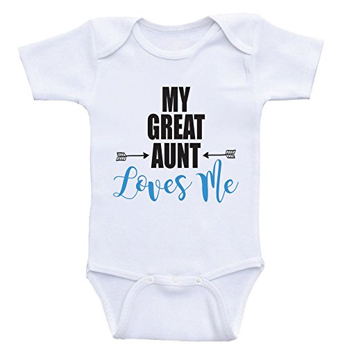 Heart Co Designs Great Aunt Baby Shirts