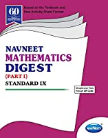 Std 9 | Mathematics Digest Part 1 | Navneet | English Medium | Maharashtra State Board |