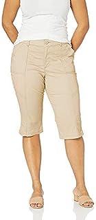 Lee womens Plus Size Flex Motion Regular Fit Utility Capri Pant Pants