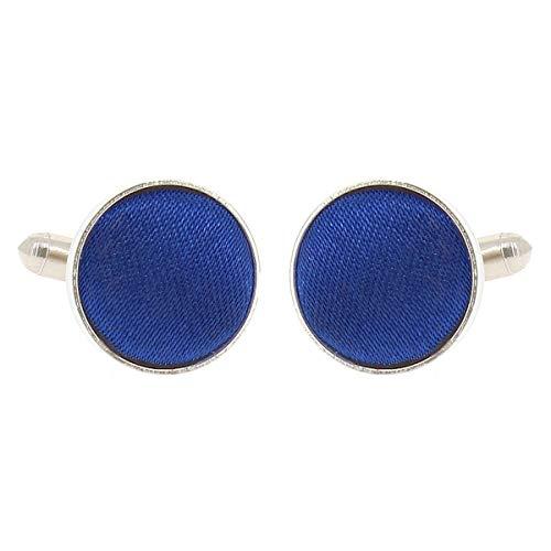 Boutons de Manchette Bleu roi pour Homme - Accessoire Poignet Chemise et Veste de Costume - Mariage, Cérémonie