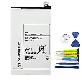 Dentsing EB-BT705FBC 3.8V 18.62Wh/4900mAh EB-BT705FBE EB-BT705FBU Tablet Battery Compatible with Samsung Galaxy Tab S 8.4 T700 T705 SM-T705C Series
