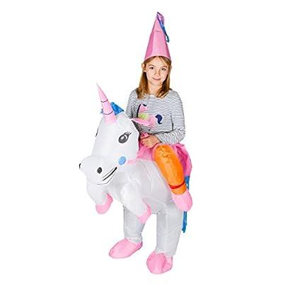 Bodysocks® Disfraz Hinchable de Unicornio Niño