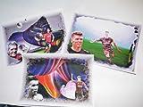 3 geniale, verschiedene Kunstdrucke mit FREIBURG-STARS zum