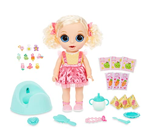 Baby Born Surprise Magic Potty Surprise Doll Blue Eyes with 30 +...