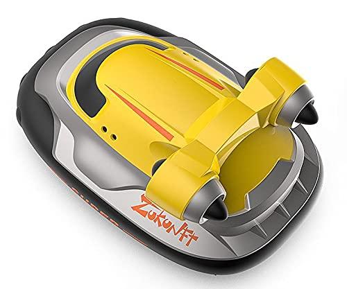 ADSVMEL RC Carga inalámbrica eléctrica Control Remoto Barco Submarino Modelo de simulación al Aire Libre Lago Piscina Estanque Impermeable Barco de Juguete Regalo para niños