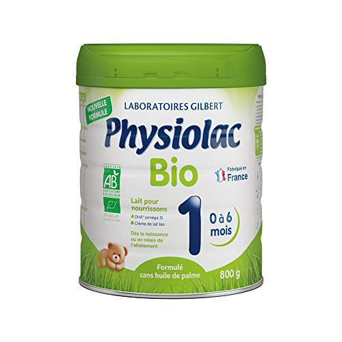 PHYSIOLAC Lait 1er âge 800g Bio - 800 Gr