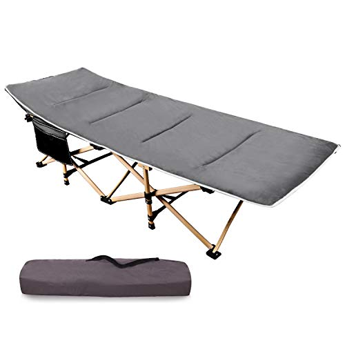 RedSwing Folding Camping Cots with Mattress for Adults Heavy Duty, 28