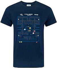 Pac Man Hombres Camiseta