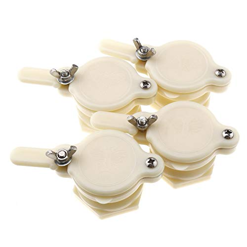 4x Honig Tap Imkerei Abfüllung Nylon Honig Absperrventil Honigschleuder Bienenzuchtgeräte Bienen Werkzeug für Imker