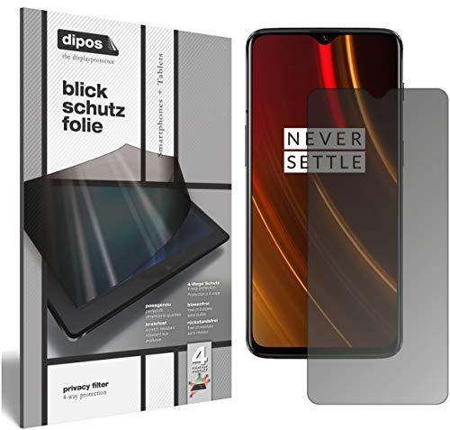 dipos I Blickschutzfolie matt kompatibel mit OnePlus 6T McLaren Edition Sichtschutz-Folie Bildschirm-Schutzfolie Privacy-Filter