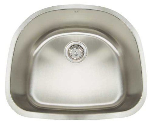 """Big Sale Best Cheap Deals Premium Series 23.5"""" x 21"""" Undermount Single Bowl Kitchen Sink"""