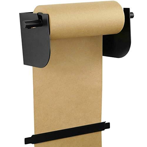 PrimeMatik - Wandrolhouder. Verpakking papieren dispenser op rollen tot 31cm 12