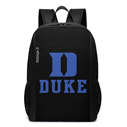 ZYWL Duke University Laptop Rucksack 17-Zoll-Reiserucksack Bookbag Bussiness Bag