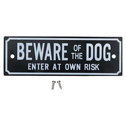 AB Tools Beware of The Dog Enter at own Risk Accueil Chien Porte Panneau d'avertissement
