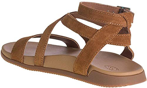 Chaco Women's Rose Sandal, Toffee, 10